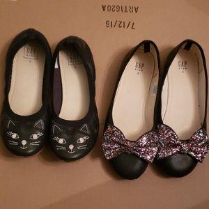 Pair of Gap shoes